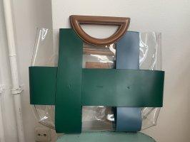 Mlouye Checked Tote Bag