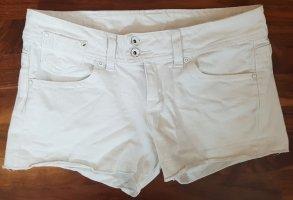 MNG Jeans Shorts, Größe 36, weiß