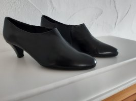 Moda Di Fausto High-Front Pumps black leather