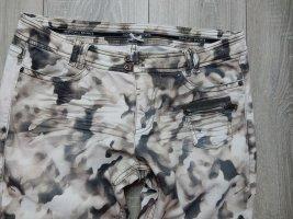 Marc Cain Vaquero elásticos marrón grisáceo-beige Algodón