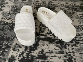 EGO Heel Pantolettes white