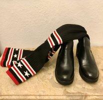 Buty nad kolano Wielokolorowy Tkanina z mieszanych włókien