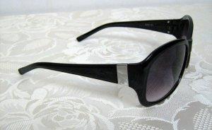 Modische Damen Sonnenbrille Vintage Style Schwarz Grau Verlauf UV 400