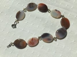 Collier Necklace grey-brown