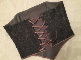 Haut type corsage multicolore tissu mixte