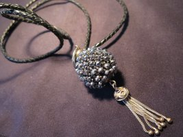 Collier Necklace black-anthracite