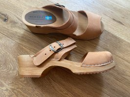 Moheda Clog Sandals bronze-colored