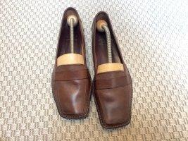 Mocassins brun cuir