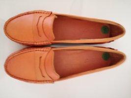 Mocassins oranje