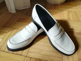Calvin Klein Jeans Moccasins white leather