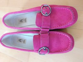 Hush Puppies Mocassino rosa Scamosciato
