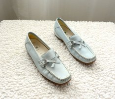 ara Moccasins light blue-baby blue leather