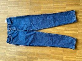 Mom-Jeans mit seitlichen Streifen