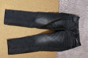 Only Jeans taille haute noir-gris anthracite