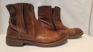 MoMa Boots in braun 38 1/2 Made in Italy