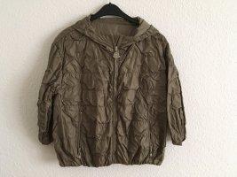 Moncler Bomber Jacket ocher polyamide