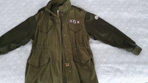 Moncler Giacca militare multicolore Cotone