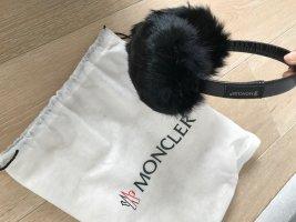 Moncler Cache-oreilles noir polyamide