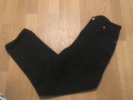 Monki Hoge taille jeans donkergrijs