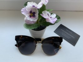 Moschino Gafas negro-color oro