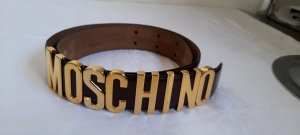 Moschino Leather Belt brown