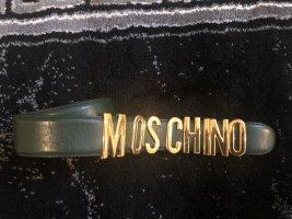 Moschino Ceinture en cuir multicolore