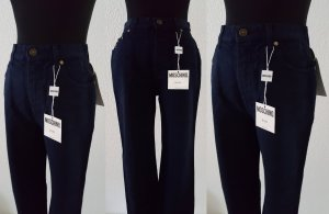 MOSCHINO Jeans Dunkelblau / Peace Sign & Hearts High Waist / Size 29 / UVP 98€