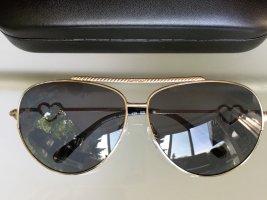 Moschino Gafas de piloto color plata metal