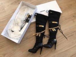 Moschino Overknee Stiefel Gr.39