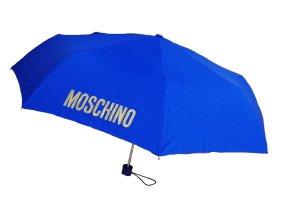 Moschino Ombrello pieghevole blu