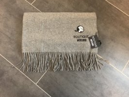 Boutique Moschino Fringed Scarf grey