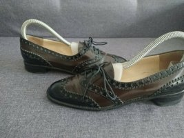 Moschino Wingtip Shoes black-brown leather