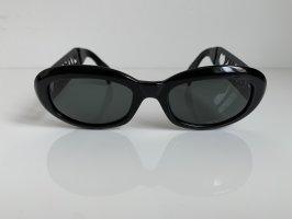 Moschino Occhiale da sole ovale nero