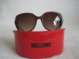 Moschino Gafas de sol cuadradas color bronce