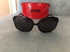 Moschino Sonnenbrille mit Schleifen Ungetragen schwarz