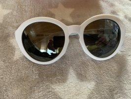Moschino Sonnenbrille weiß