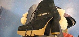 Love Moschino Patucos con plataforma negro