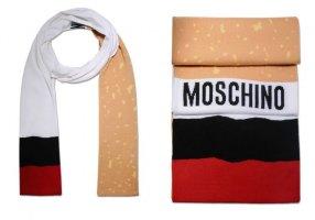 Moschino Wollen sjaal veelkleurig Wol