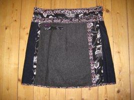 Falda cruzada multicolor Algodón