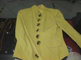 Mothwurf Bluzon ciemny żółty Len