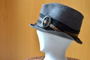 Move Roma Cappello Trilby multicolore