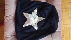 faera Sombrero de tela azul oscuro