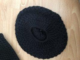 Gorra redonda con visera negro