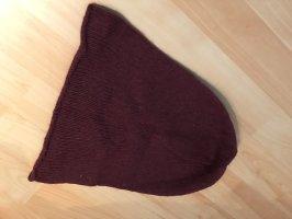 Chapeau en tissu violet