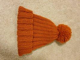 no name Cappello a maglia arancione scuro