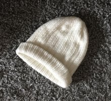 Amisu Berretto bianco-bianco sporco
