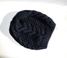 Pieces Chapeau en tricot noir