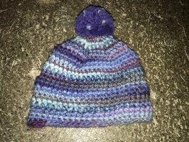 Mütze blau/lila