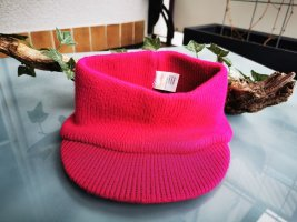 Candies Knitted Hat magenta polyacrylic
