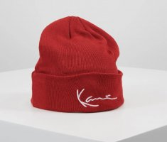 Karl Kani Beanie red-white